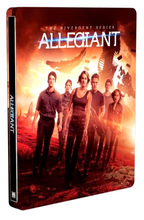 Steelbook Divergent Best Buy the divergent series allegiant steelbook best