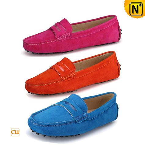 womens driving loafers leather moccasin driving shoes cw314014