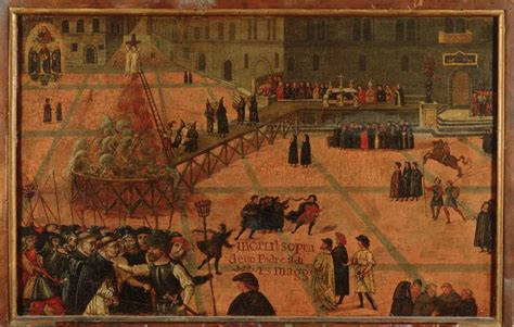 Bonfire Of The Vanities Savonarola by Money And Bankers Botticelli And The Bonfire Of