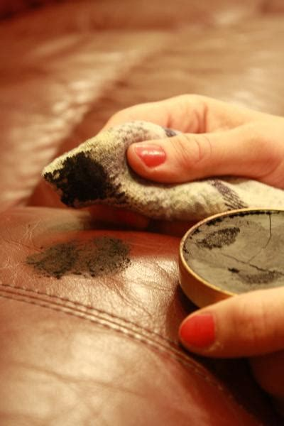 shoe polish leather sofa do not use shoe polish on leather upholstery fibrenew