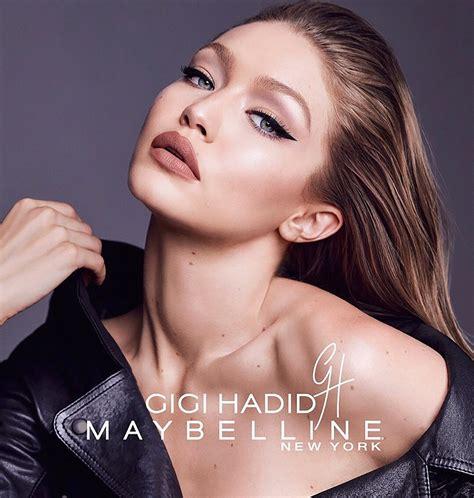 Maybelline X Gigi Hadid gigi hadid for gigi x maybelline october 2017 hawtcelebs