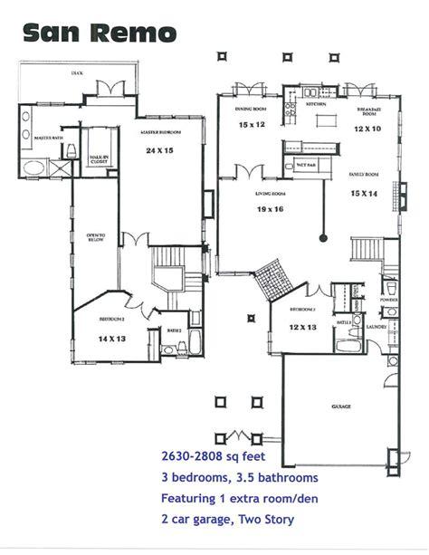San Remo Floor Plans | san remo floor plan