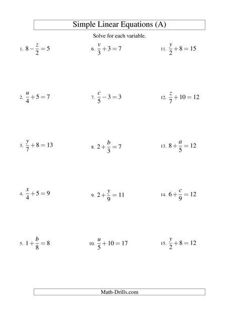 printable worksheets solving for x solve for x worksheets lesupercoin printables worksheets