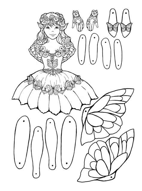 Garden Fairy Puppet Wwwpheemcfaddellcom sketch template