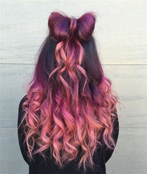 cute color hairstyles tumblr mermaid hair on tumblr