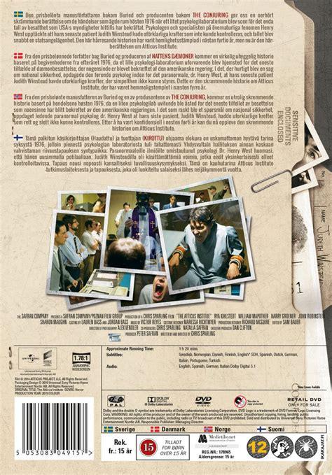 fakta film jigsaw the atticus institute dvd film dvdoo dk