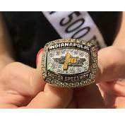 The Indianapolis 500 Champion Of Champions Ring For 2016 Allan