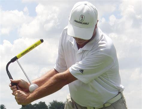 golf swing training aids amazing angle golf swing training aid 187 review