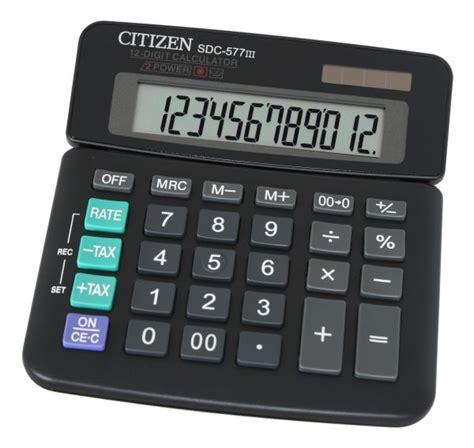 calculator citizen sdc 577iii citizen calculator