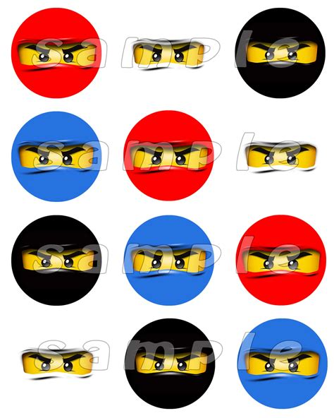 printable ninjago stickers lego ninjago face clipart
