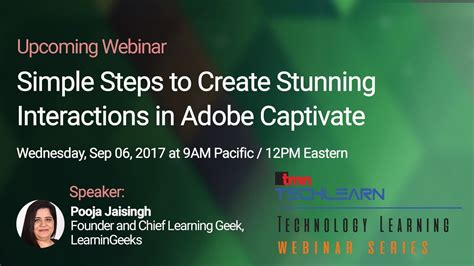 e learning adobe captivate 2017 books webinar simple steps to create stunning interactions in