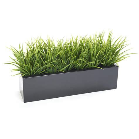 grass box buy window box with faux grass bush the worm that turned revitalising your