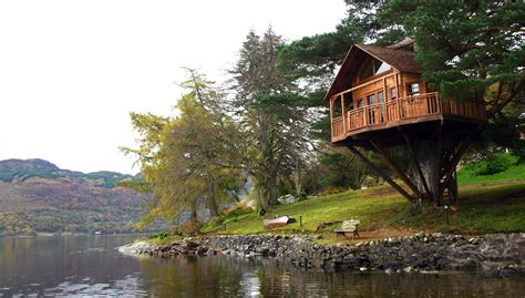 the tree house at the lodge loch goil exclusive photo shoot production venue scotland 1759