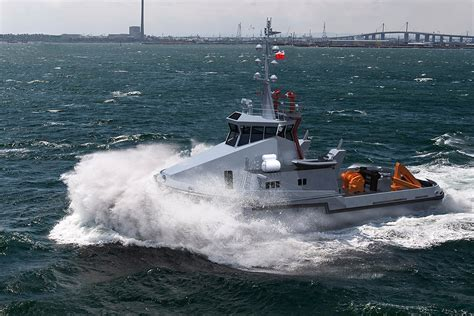 modern multi role polish navy tugs construction commenced poland  sea maritime economy portal