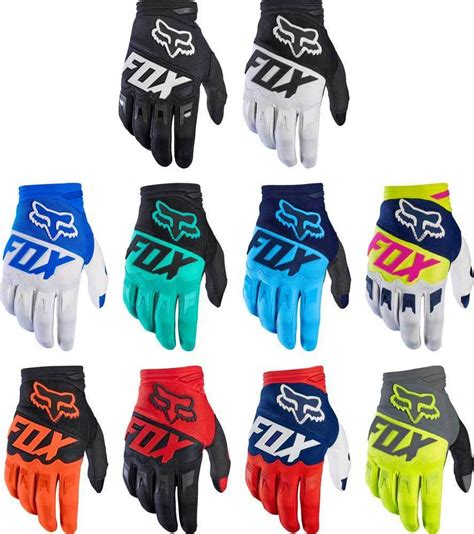 fox motocross gloves 2017 fox racing dirtpaw race gloves mx motocross
