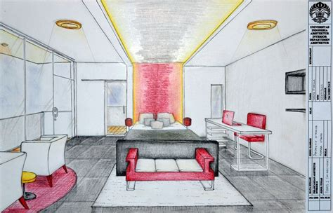 bedroom perspective drawing bedroom interior perspective by shilta on deviantart