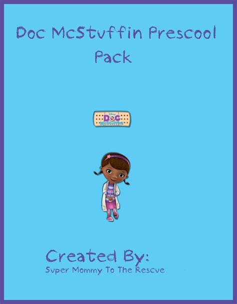 Doc Mcstuffins Worksheets by Free Doc Mcstuffins Preschool Pack To The Rescue