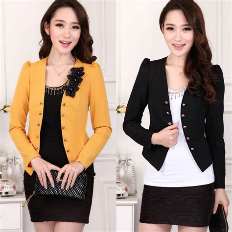 Blazer Fashion Korea l 5xl free shipping 5 colors jaqueta feminina blazer korean fashion casual winter jacket