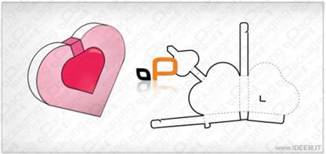templates for heart shaped boxes heart shaped box vector template heart images