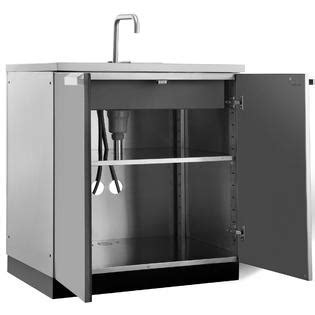 newage products stainless steel classic 32 in sink newage products outdoor kitchen 32 quot w x 24 quot d sink cabinet