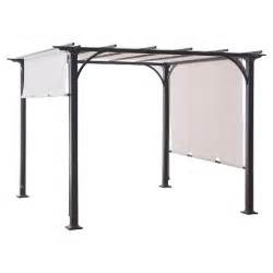Backyard Gazebos Canopies Adjustable Shade Pergola Threshold Target
