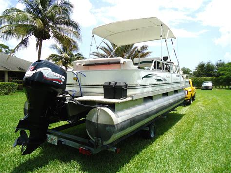2003 palm beach pontoon palm beach pontoon 2023 fish master 2003 for sale for 100