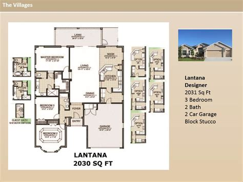 the villages homes designer homes lantana model