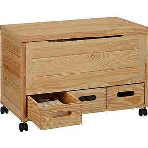 Small Drawers On Wheels Wooden 3 Drawer Storage Chest On Wheels Pine At
