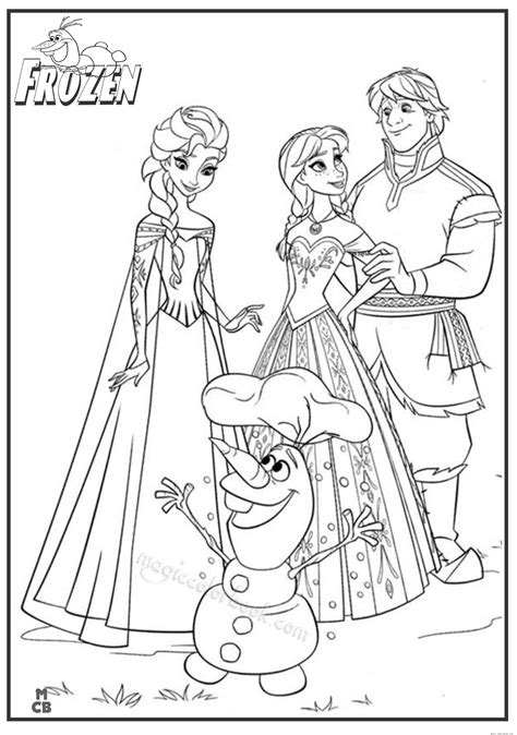 Printable Coloring Pages For Frozen by Disney Princess Frozen Coloring Pages Printable