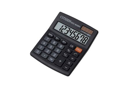 Kalkulator Saku Pocket Citizen Sld 100n jual citizen sdc 805bn jual kalkulator casio sdc 805bn di kalkulator grosir