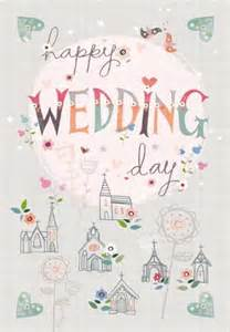 wedding day card for and in 2 happy wedding day card large wedding card karenza paperie