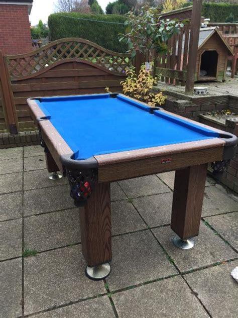 wood pool table solid wood pool table sedgley dudley