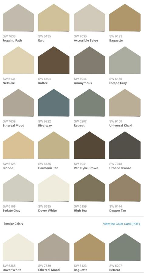 sherwin williams hgtv home neutral nuance color palette paintin the town
