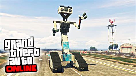 robot film gta v el hermano de wall e robot gigante gta v online ps4