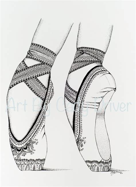 coloring pages ballerina shoes proper fifth iba ballet shoes printable by