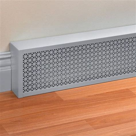 electric baseboard heater covers decorative baseboard cover 15 w x 6 h