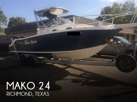fishing boats for sale richmond mako 24 boat for sale in richmond tx for 35 600 pop