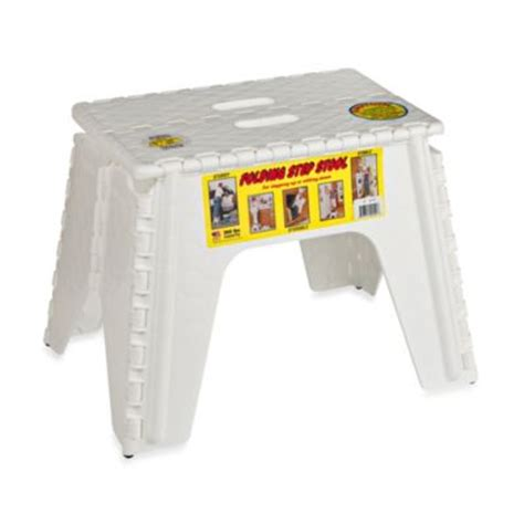 3 Inch Step Stool by Buy Folding Step Stools From Bed Bath Beyond