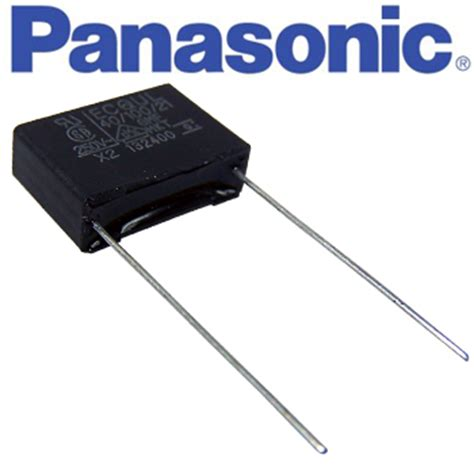 x2 series capacitor 0 1uf panasonic 275vac ecqul series metallized polyester x2 capacitor hifi collective