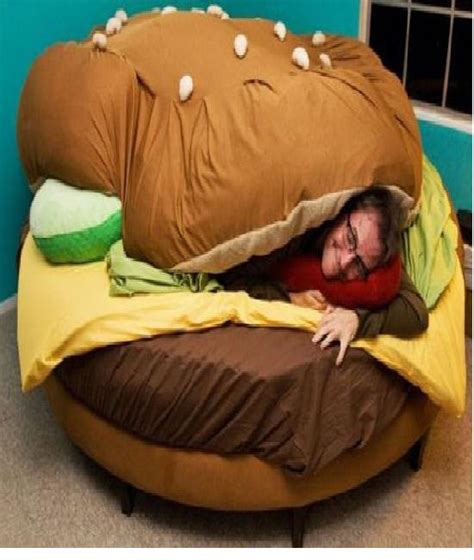 cheeseburger bed the burger craziest beds