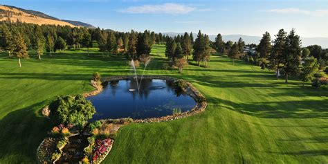 sunset course at country club one of the best kelowna golf courses