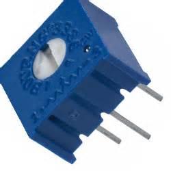 3386 Series 3386p 3386p 1 102 Trimpot Variabel Resistor Presisi 102 1k 93 78