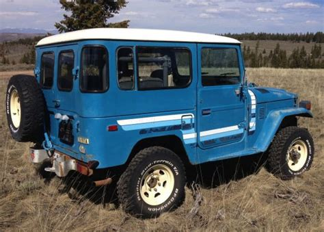toyota land rover 1980 original stripes 1980 toyota land cruiser fj40 bring a