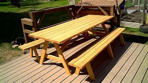 diy picnic table picnic table diy