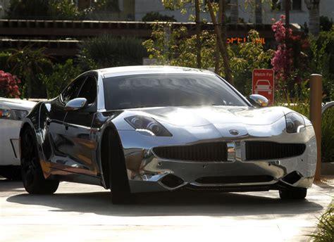 Justin Bieber Chrome Lamborghini Justin Bieber Chrome Fisker Karma Cars