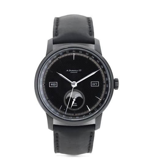 alfred dunhill classic pvd moonphase watches