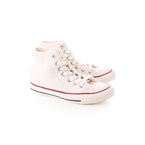 converse knit converse womens winter knitted high tops white