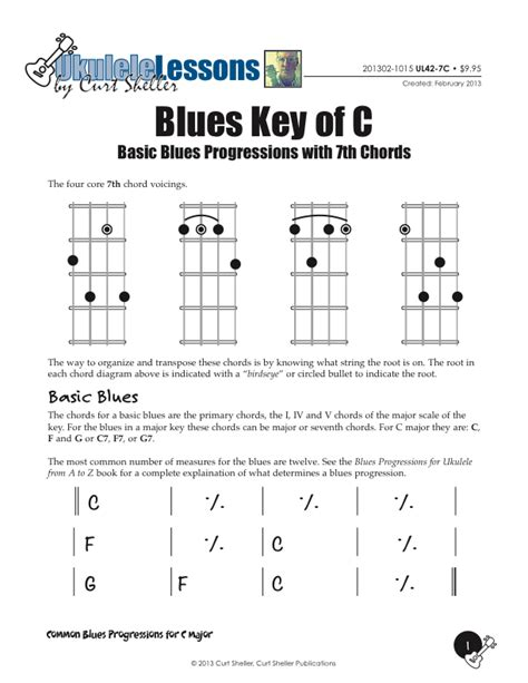blue ukulele song tabs how to play blues ukulele pdf