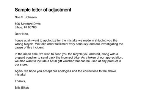 Decline Adjustment Letter Letter Of Explanation Sle New Calendar Template Site