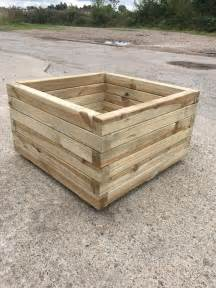 Square Planters Sale High Quality Tanalised Pressure Treated Square Planter